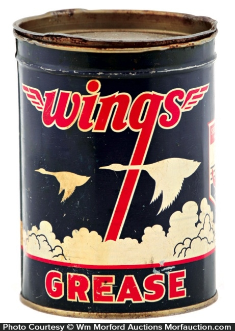 Wings Grease Can