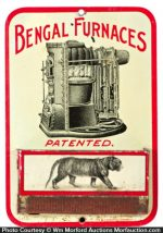 Bengal Furnaces Match Holder