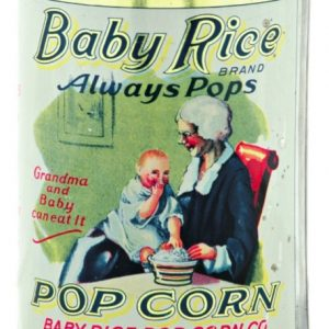 Baby Rice Pop Corn Tin