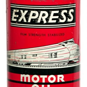 Express Motor Oil Can