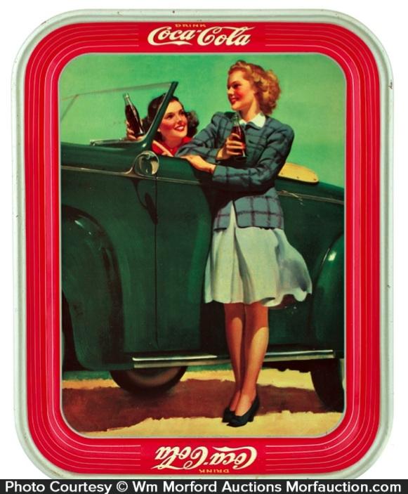 1942 Coke Tray
