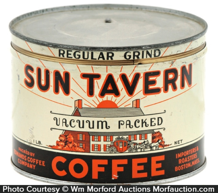 Sun Tavern Coffee Can