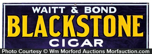 Blackstone Cigar Sign