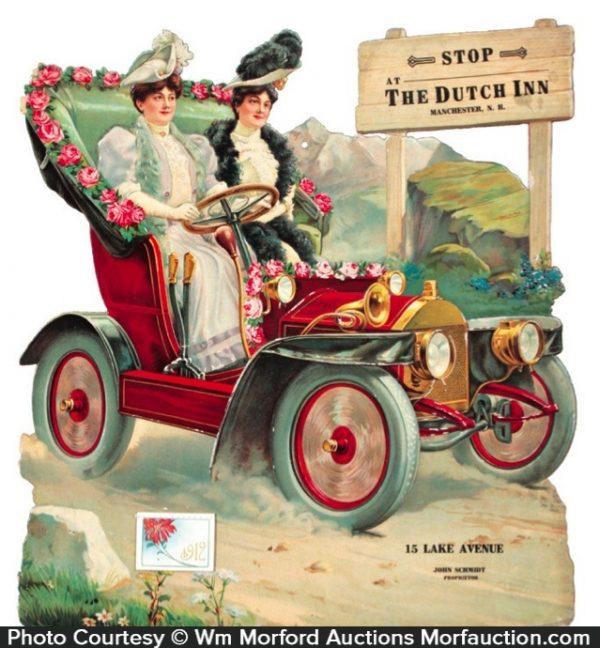 Dutch Inn Car Sign