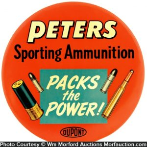 Peters Ammunition Sign