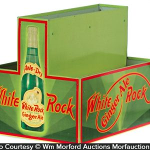White Rock Ginger Ale Display