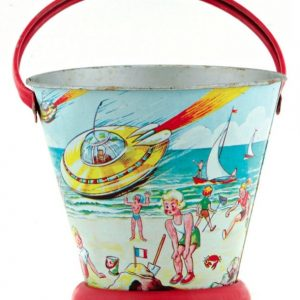 Sci-Fi Space Sand Pail