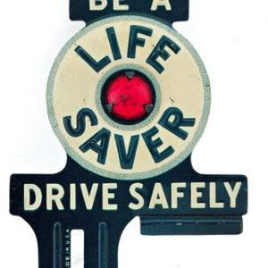Life Saver Bumper Tag