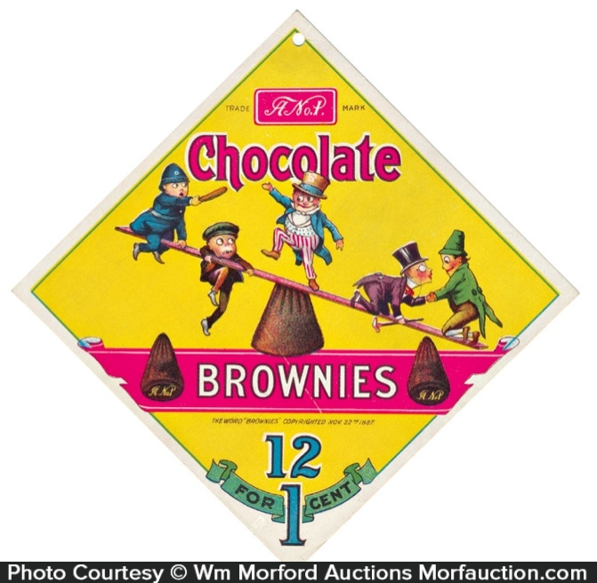 Chocolate Brownies Sign