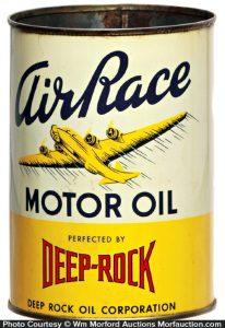Air Race Motor Oil Can