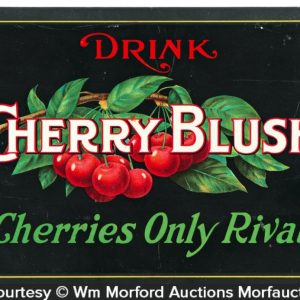 Cherry Blush Soda Sign