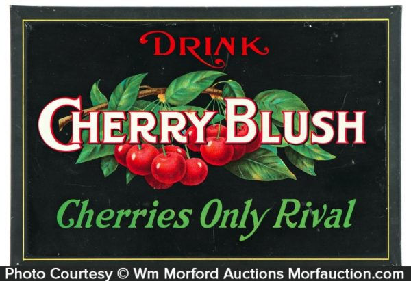 Cherry Blush Soda Sign