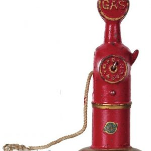 Cast Iron Gas Pump Toy