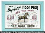 Dryden Hoof Pads Sign