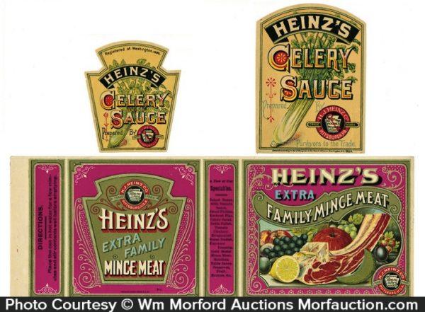 Vintage Heinz Labels