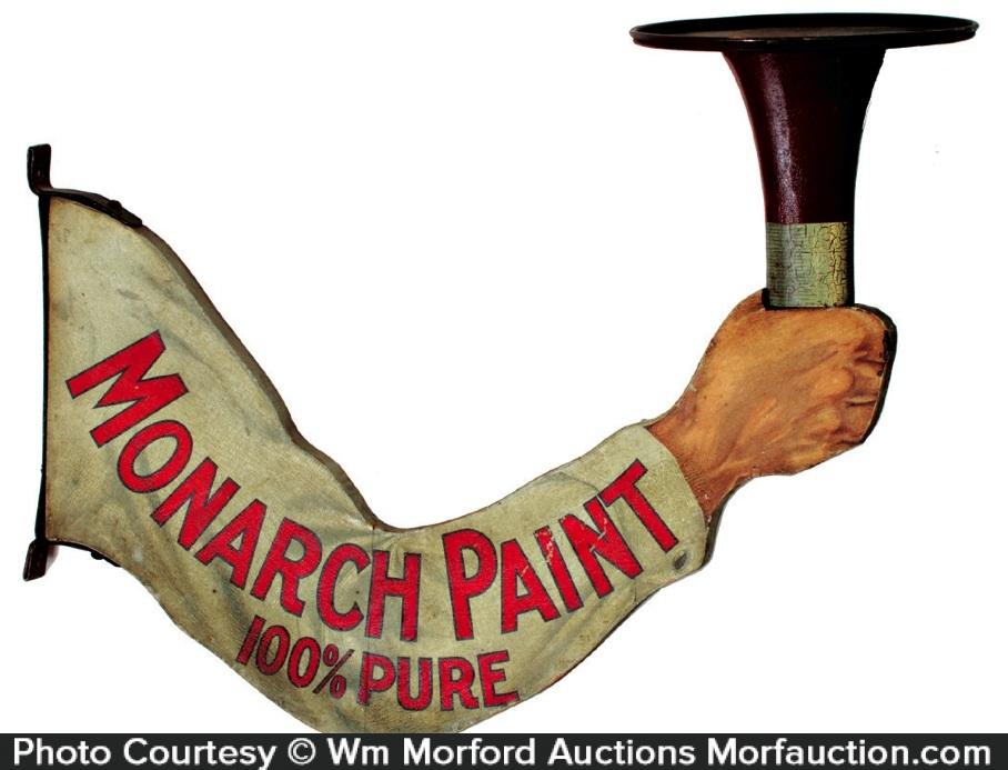 Monarch Paint Sign