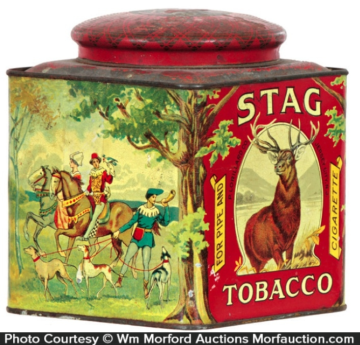Stag Tobacco Canister