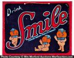 Smile Soda Sign