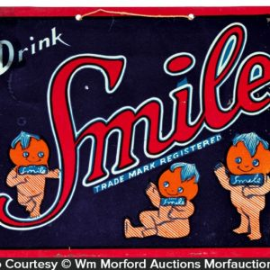 Smile Soda Sign