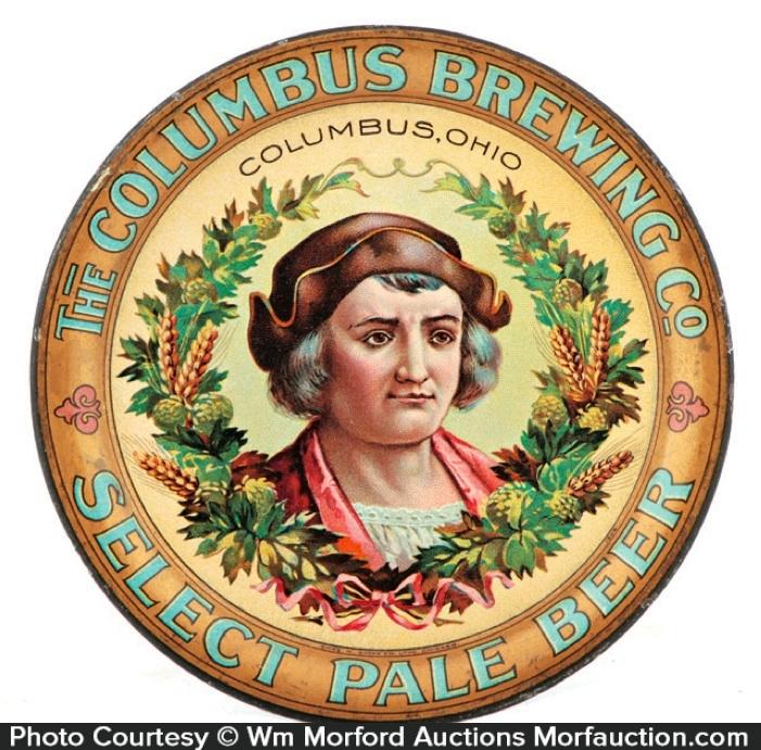 Columbus Brewing Tip Tray