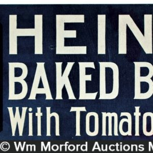 Heinz Baked Beans Sign