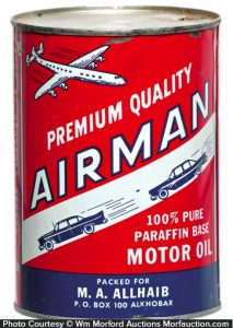 Airman Oil Can