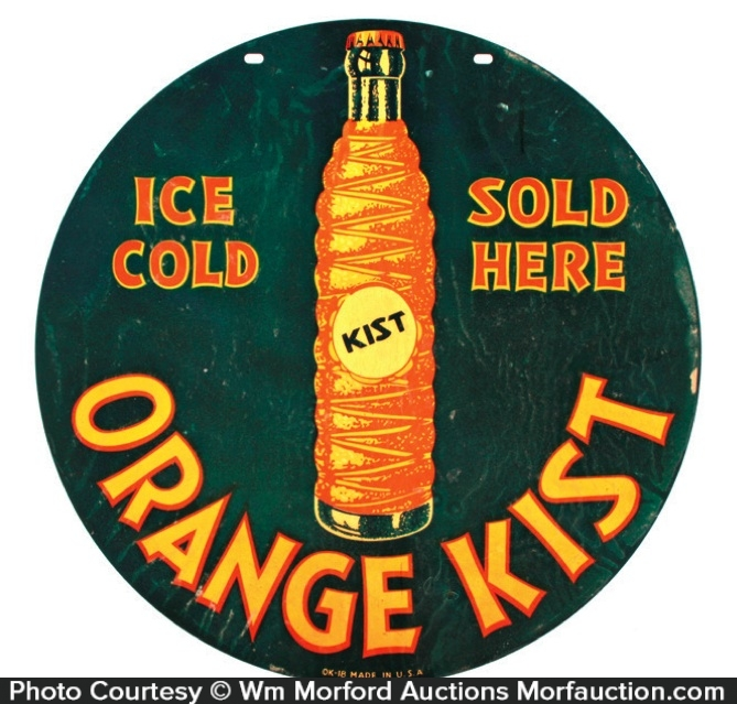 Orange Kist Sign