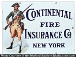 Continental Insurance Sign