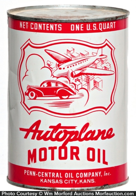 Autoplane Motor Oil Can