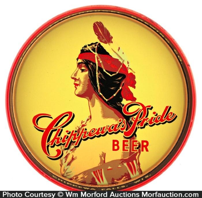 Chippewa's Pride Beer Tray