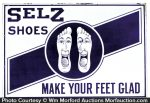 Selz Shoes Sign