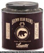 Brown Bear Tobacco Tin
