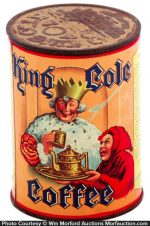 King Cole Coffee Can