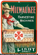 Milwaukee Harvesting Machines Match Holder