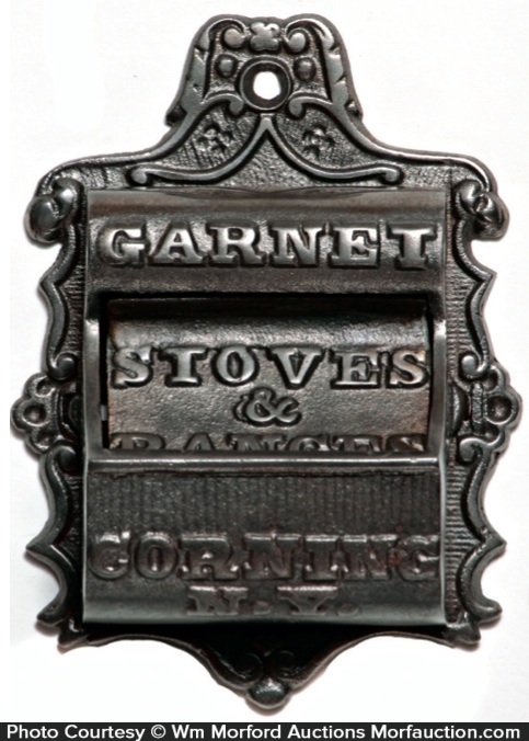Garnet Stoves Match Holder