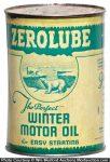Zerolube Oil Can