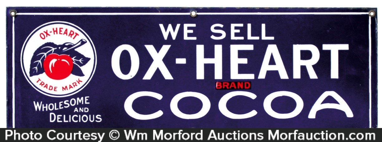 Ox-Heart Cocoa Sign