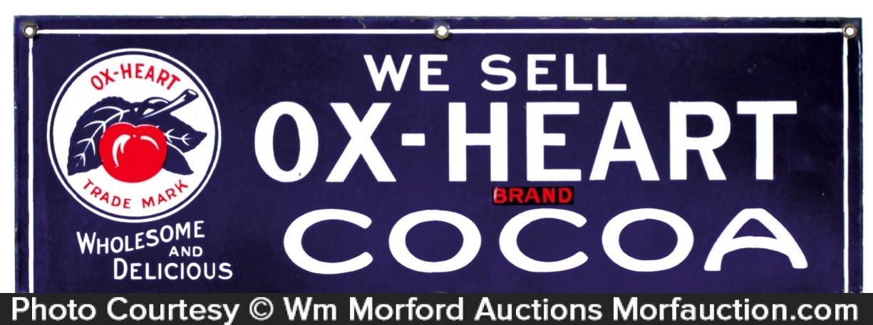 Ox-Heart Cocoa Sign