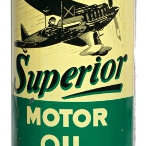 Superior Motor Oil Can