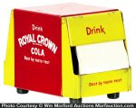 Royal Crown Cola Napkin Holder