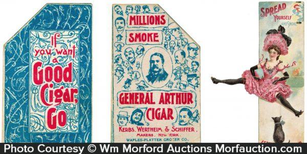 General Arthur Cigars Trade Card