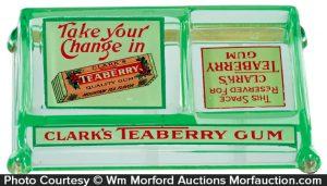 Clark's Teaberry Gum Change Receiver