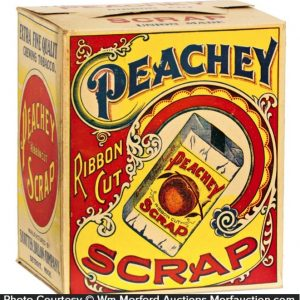 Peachy Scrap Tobacco Display Box