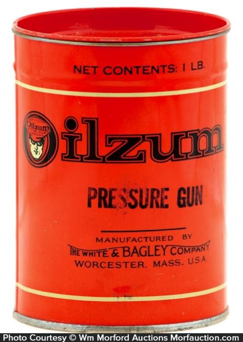 Oilzum Pressure Gun Tin