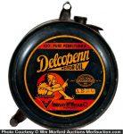 Delcopenn Motor Oil Can