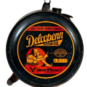 Delcopenn Motor Oil Can
