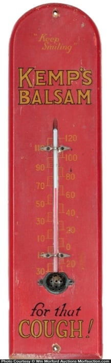 Kemp's Balsam Thermometer