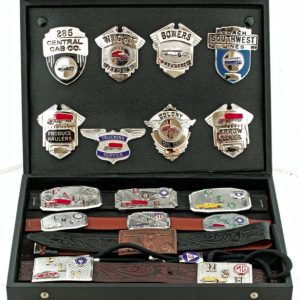 Salesman's Buckles and Badges Kit