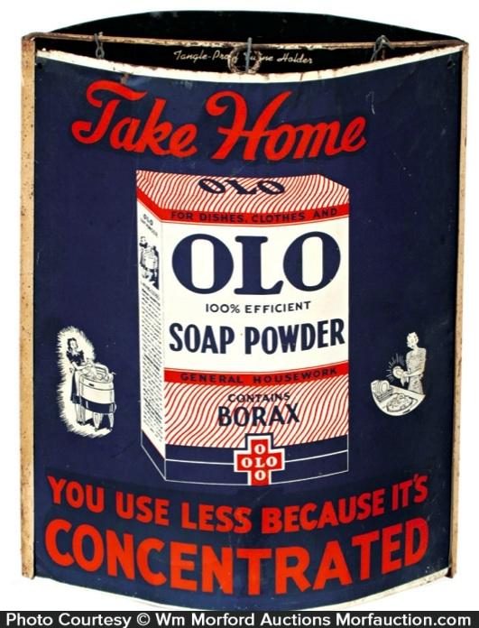 Olo Soap Powder String Holder