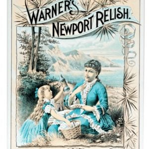 Warner's Newport Relish Sign